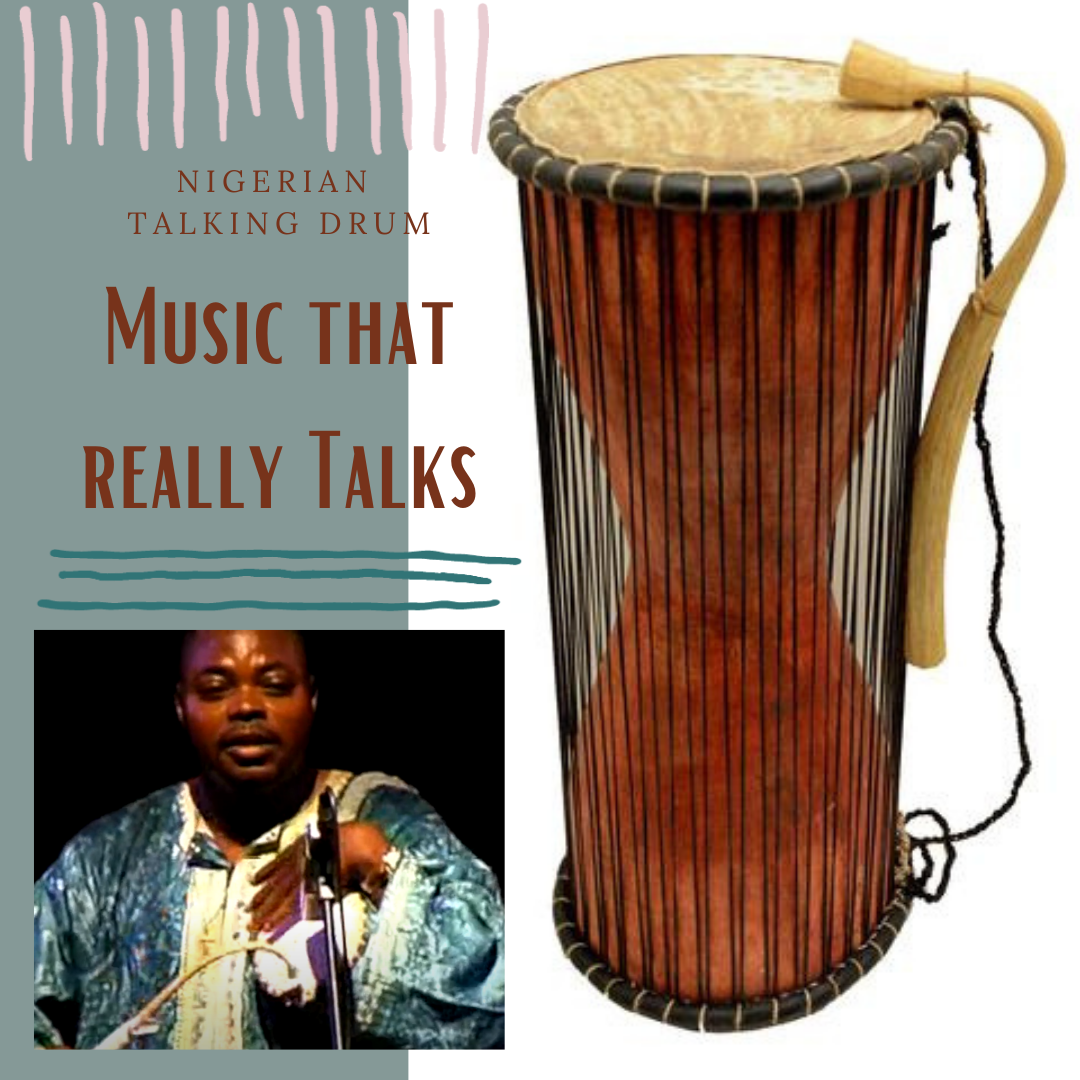 African Talking Drum – Music that really talks