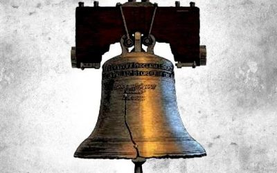 Homemade Liberty bells RING for Independence Day