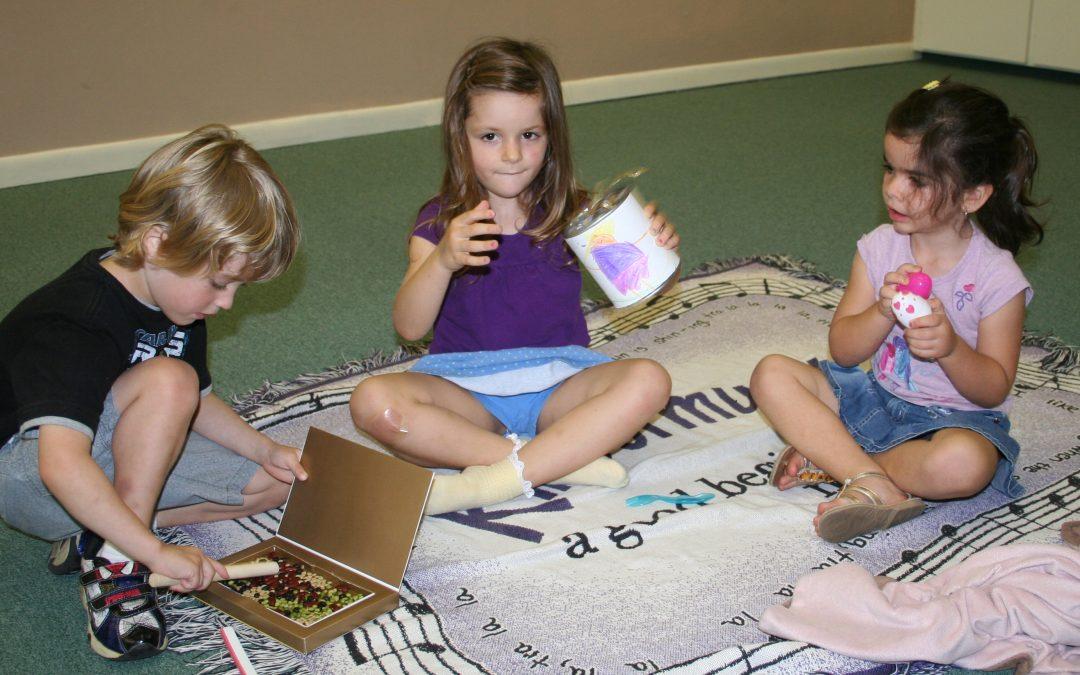 This Music Class starts where the Preschooler's Mind Dwells