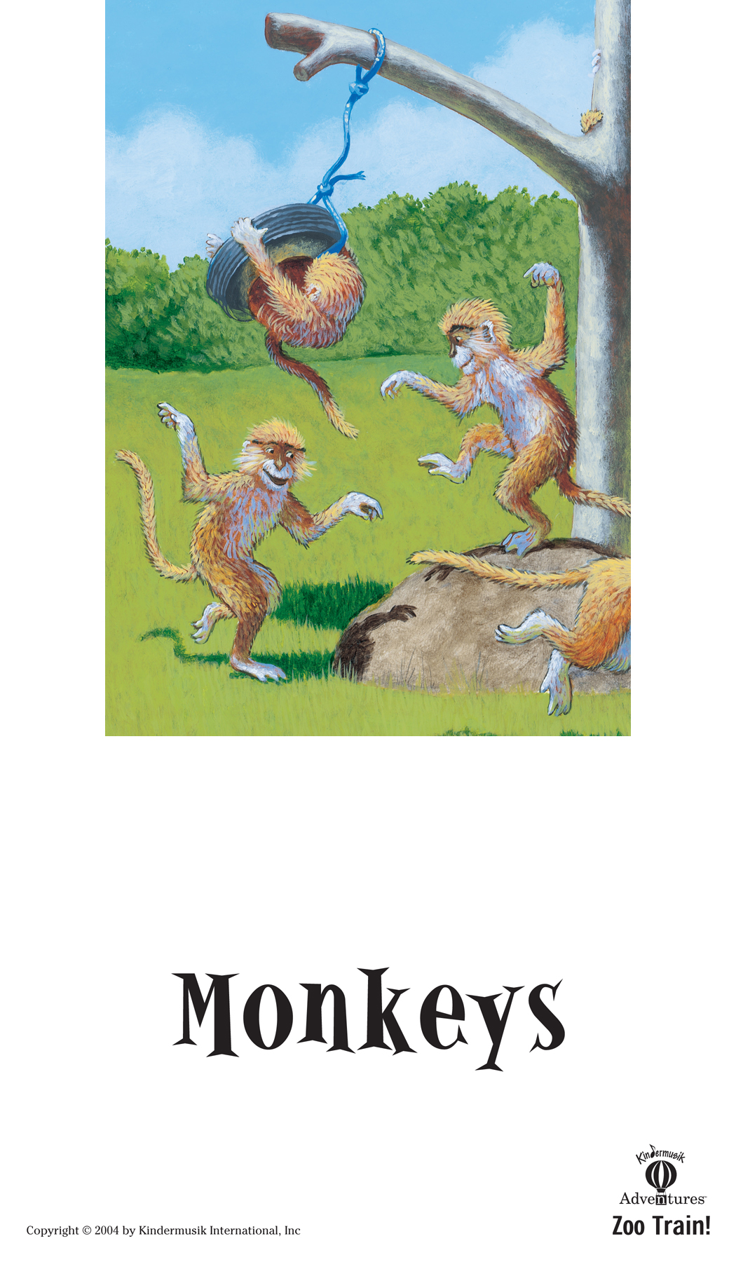Developing Imaginative Play as Monkeys